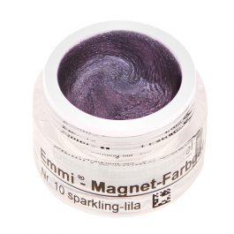 Магнитный гель, sparkling-lila