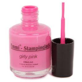 Штампинг-лак, 12мл, girly pink