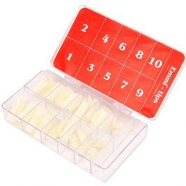 Типсы в коробочке №1-10, 250шт натуральные
